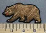5296 CP - Brown Bear - Embroidery Patch