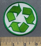 5299 CP - Recycle - Round - Embroidery Patch