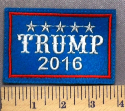 5300 L - TRUMP 2016 - Embroidery Patch
