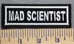 5303 L - Mad Scientist - Embroidery Patch
