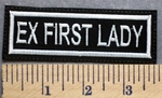 5307 L - Ex - First Lady - Embroidery Patch