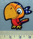 5312 CP - Parrot - Embroidery Patch
