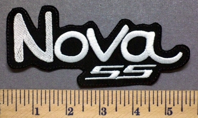 5313 L - NOVA SS - Embroidery Patch
