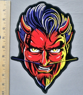 5336 G - Red Devil - Back Patch - Embroidery Patch