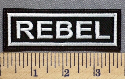 5342 L - Rebel - Embroidery Patch