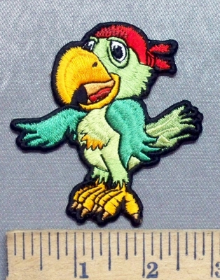 5549 CP - Pirates Parrot - Embroidery Patch