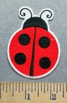5552 CP - Lady Bug #2 - Embroidery Patch