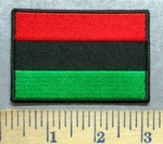 5558 CP - African Flag - Embroidery Patch