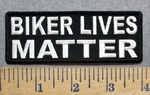 5560 CP - Biker Lives Matter - Embroidery Patch