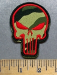 5562 C - Enforcer - Camoflage - Embroidery Patch - Velcro Backing