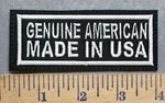 5569 L - Genuine American - Made In USA - Embroidery Patch