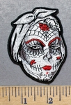 5580 G - Sugar Lady - Embroidery Patch