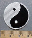 5596 S - Yin And Yang - Embroidery Patch