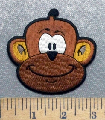 5602 CP - Monkey - Embroidery Patch