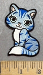 5605 CP -  Kitten - Kitty Cat - Embroidery Patch