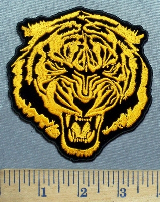 5610 CP - Orange Bengal Tiger - Embroidery Patch