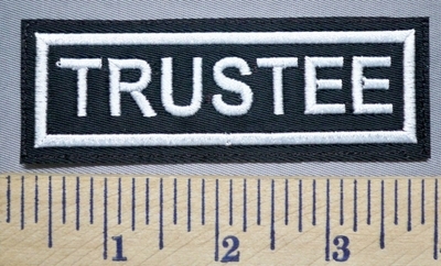 5618 L - Trustee - Embroidery Patch