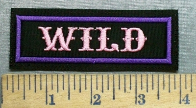 5627 L - Wild - Pink - Embroidery Patch