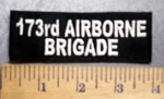 5629 L - 173rd Airborne Brigade - Embroidery Patch