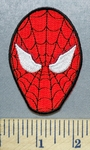 5652 CP - Spiderman Face #2 - Embroidery Patch