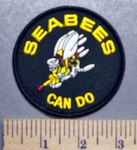 5675 S - SEABEES - Can Do - Embroidery patch