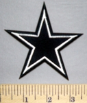 5686 C - Dallas Star - Embroidery Patch
