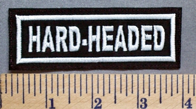 5692 L - Hard - Headed - Embroidery Patch
