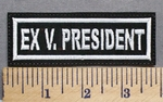 5693 L - Ex - V. President - Embroidery Patch