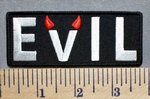 5694 CP - Evil- Embroidery Patch