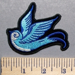 5721 G - Blue Bird - Embroidery Patch