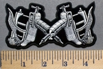 5732 CP - Tattoo Guns - Embroidery Patch