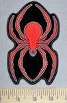 5741 G - Red Spider - Embroidery Patch