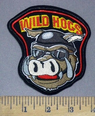 6970 C - Wild Hogs - Embroidery Patch
