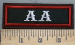 2501 L - AA - Embroidery Patch