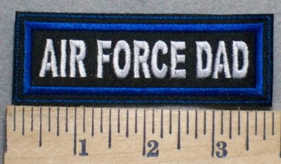 2510 L - Air Force Dad - Embroidery Patch