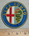 3105 C - Alfa Romeo Logo - Embroidery Patch