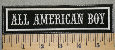2467 L - All American Boy - Embroidery Patch