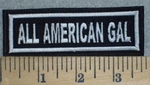 3240 L - All American Gal - Embroidery Patch