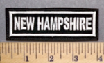 2969 L - New Hampshire - Embroidery Patch