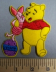 1999 C - Winnie The Pooh And Piglet -  Embroidery Patch