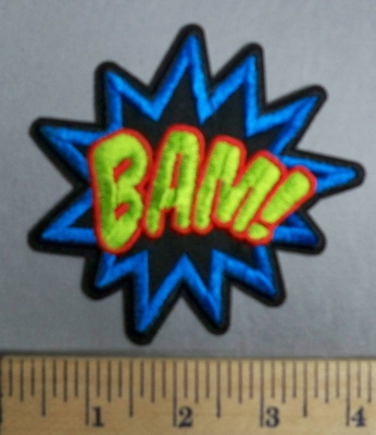 1965 C -BAM! - Embroidery Patch