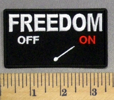 1428 CP - FREEDOM Mode - ON - Embroidery Patch