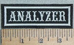3127 L - Analyzer - Embroidery Patch
