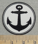 2885 G - Anchor - Embroidery Patch