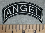 2613 L - Angel - Mini Top Rocker - Embroidery Patch