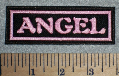 2675 L - Angel - Pink - Embroidery Patch