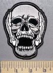 1969 CP - Hear No Evil - Skull - Embroidery Patch
