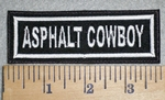 3381 L - Asphalt Cowboy - Embroidery Patch
