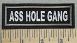 2917 L - Ass Hole Gang - Embroidery Patch