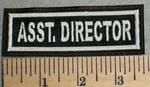 2484 L - Asst. Director - Embroidery Patch